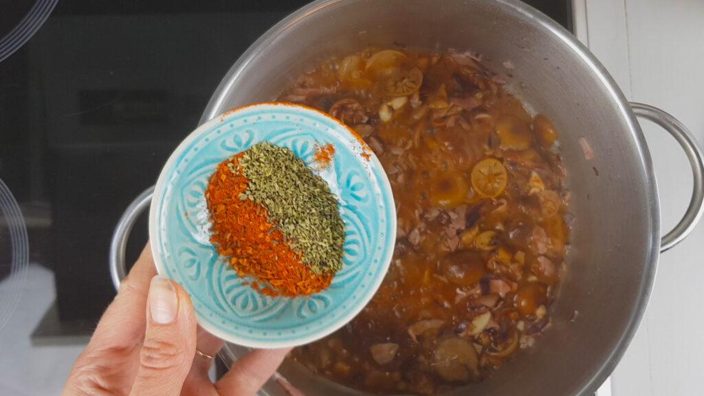 Recept guláš z hub