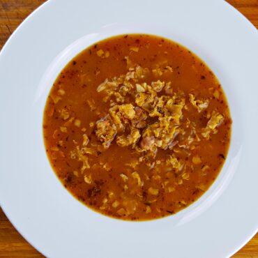 Kotrčová polévka