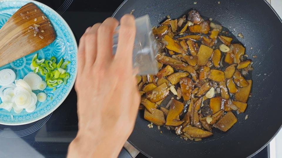 modrák recept houby
