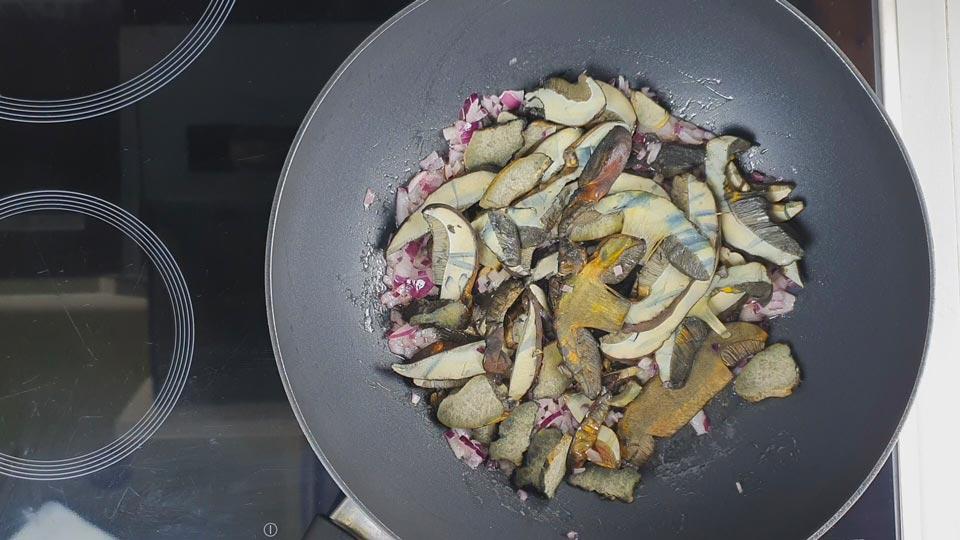 hřib kovář omáčka recept